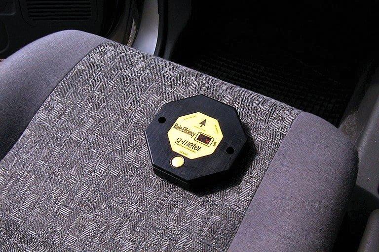MOT Brake Test G-meter
