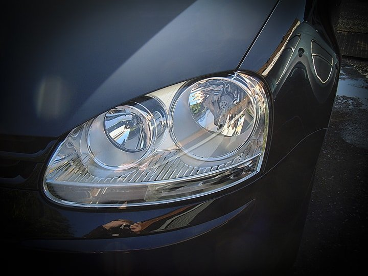 MOT Test of lights and headlamps