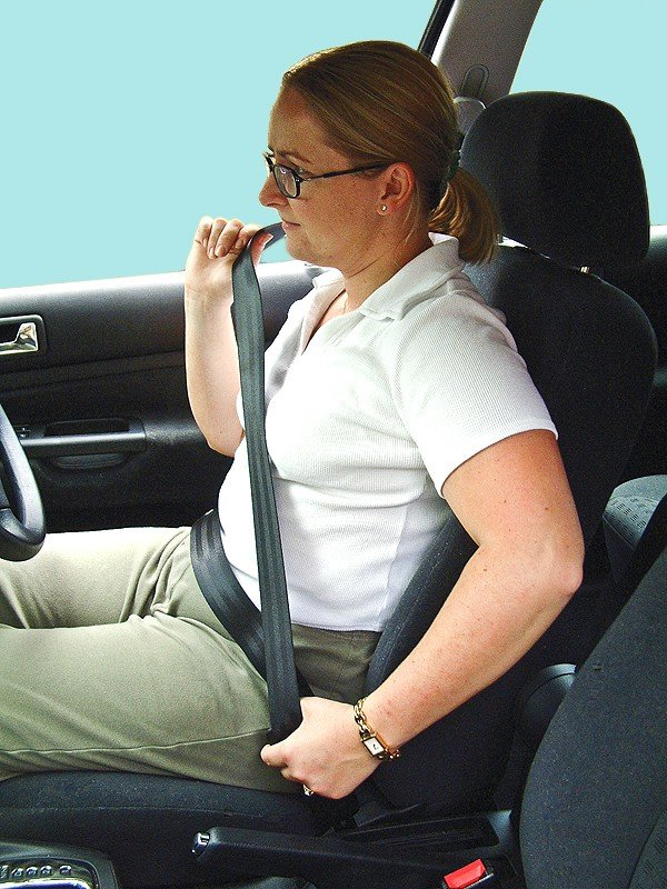 MOT Test of Seat Belts