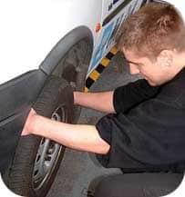 Prepare for the MOT - wheel bearing