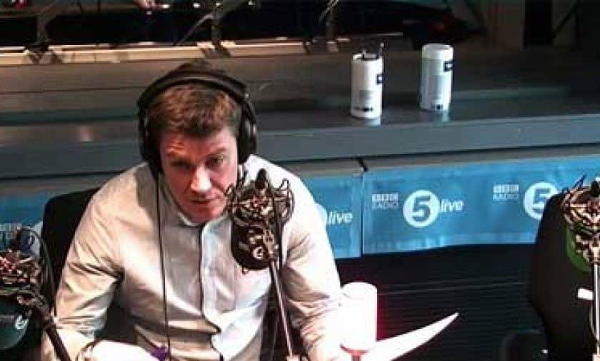 Editor Jim Puter on BBC Radio 5 Live
