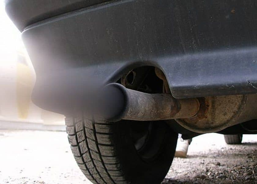 New MOT rules Exhaust emiassions