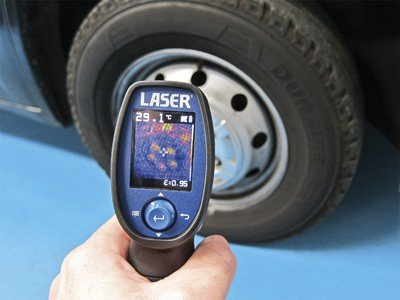 Laser Thermal Imaging Device