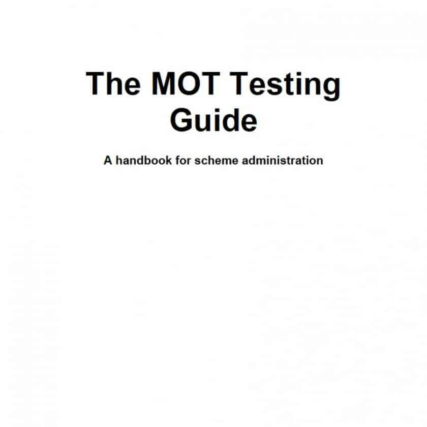 new MOT Guide