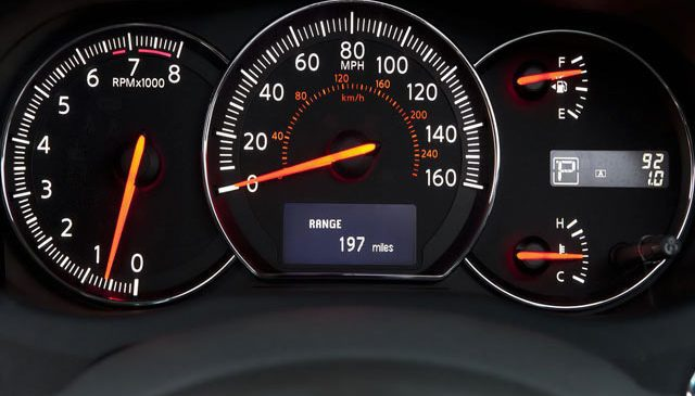 MOT Test of the Instrument Panel | What is checked