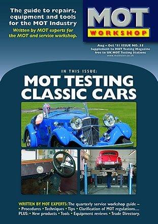 Mot Workshop 35 Classic Cars Mot Mot Test Information