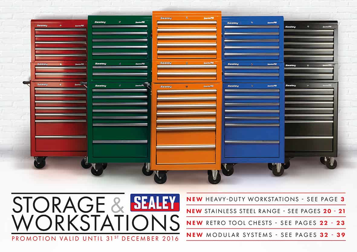 Sealey Storage Solutions