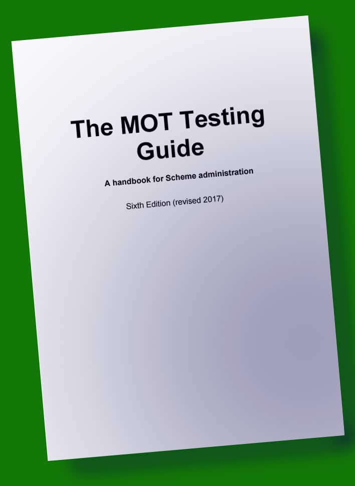 MOT Testing Guide Sixth Edition 2017