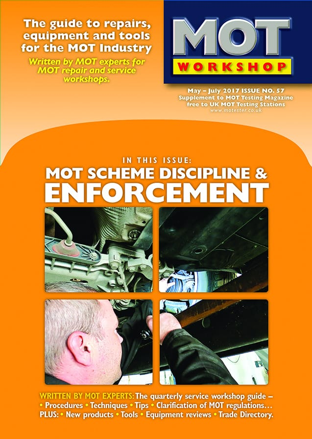 MOT Workshop Magazine 57 May 2017