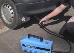 MOT diesel emissions test at MOT Testing Stations