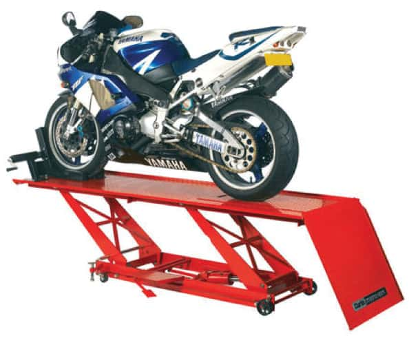 MOT Workshop Magazine hydraulic bike lift