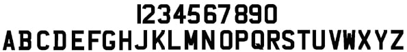 New MOT number plate regs style graphic