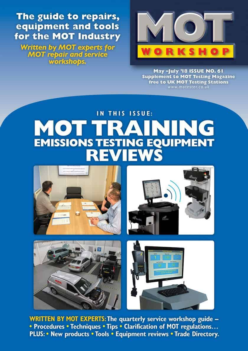 MOT Workshop Magazine 61 May 2018