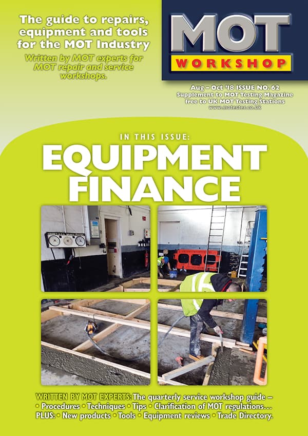 MOT Workshop Magazine 62 August 2018