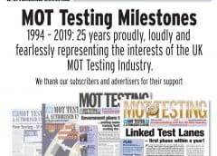 MOT Testing Magazine's 100th Issue