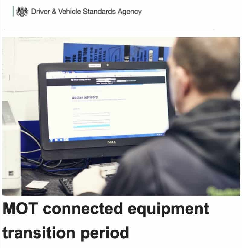MOT Connected Equipment